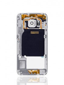 Mid-Frame Housing For Samsung Galaxy S6 Edge (With Small Parts) (Blue)