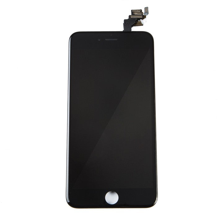 Complete LCD Assembly For iPhone 6 Plus (With Front Camera, Prox Sensor & Ear Speaker) (Aftermarket Quality, LG) (Black)
