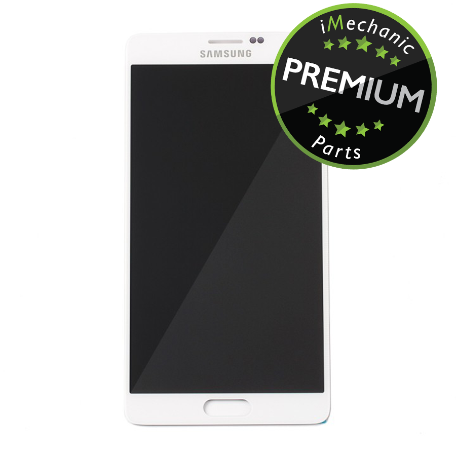 LCD Assembly Without Frame For Samsung Galaxy Note 4 (Premium) (White)