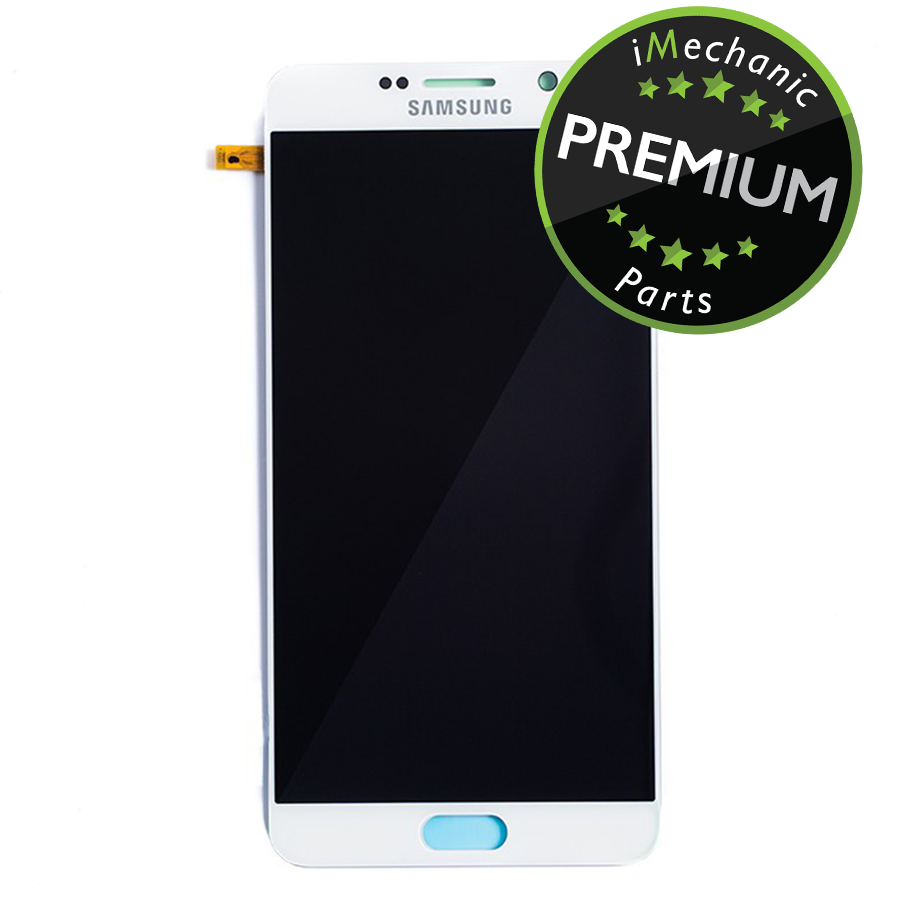 LCD Assembly Without Frame For Samsung Galaxy Note 5 (Premium) (White Pearl)