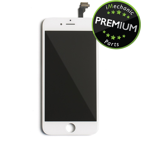 LCD Assembly For iPhone 6 (Premium Quality) (White)