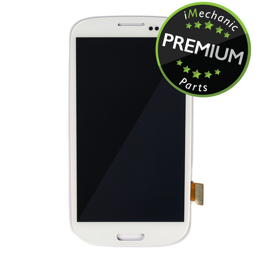 LCD Assembly With Frame For Samsung Galaxy S3 L710 (Premium) (Sprint) (White)