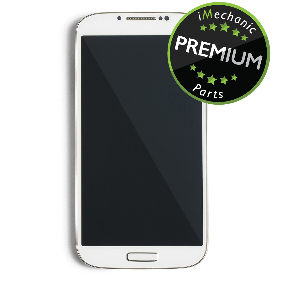LCD Assembly With Frame For Samsung Galaxy S4 I337/M919 (Premium) (AT&T & T-Mobile/ Straight Talk) (White)