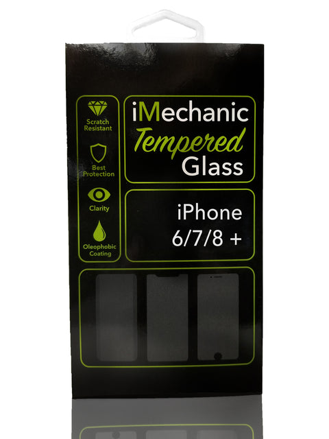 iPhone 6/7/8 + Tempered Glass Screen Protector