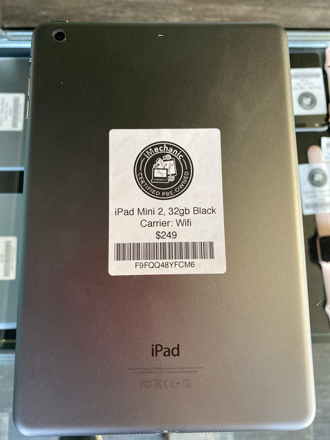 iPad Mini 2, 32gb, Black