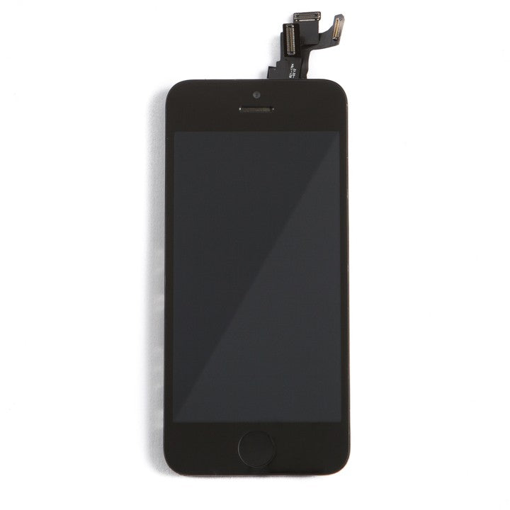 Complete LCD Assembly For iPhone 5 (With Front Camera, Prox Sensor & Ear Speaker) (Aftermarket Quality, Tianma) (Black)