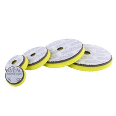 Polishing sponge V1 (gray / yellow-hard, open-cell)