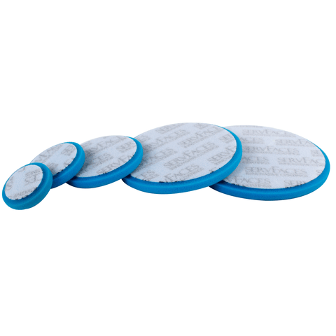 Polishing sponge RT V3 (blue-medium, open-cell) 5 pcs.
