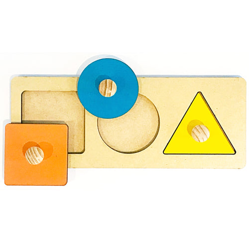 3 Shapes Puzzle My Montessori Home South Africa