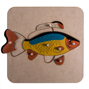 Zoology Fish Puzzle My Montessori Home South Africa