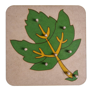 Botany Leaf Puzzle My Montessori Home South Africa
