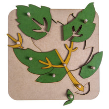 Load image into Gallery viewer, Botany Leaf Puzzle My Montessori Home South Africa