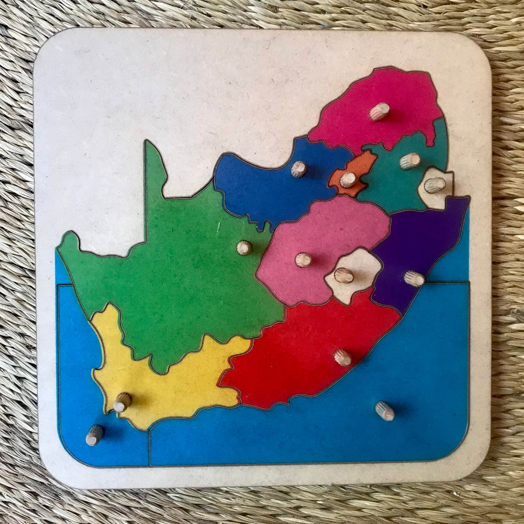 South Africa Puzzle Map