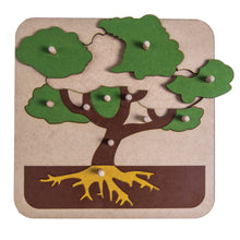 Load image into Gallery viewer, Botany Tree Puzzle My Montessori Home South Africa