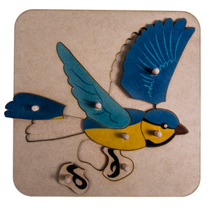 Zoology Bird Puzzle My Montessori Home South Africa