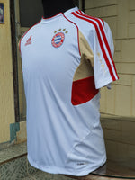 GERMAN BUNDESLIGA BAYERN MUNICH 2011-2012 2ND ADIDAS CLIMACOOL TRAINING JERSEY Q3 AUTUM-WINTER SHIRT   CODE NO.  O58481