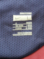 ENGLISH PREMIER ARSENAL FC 2007-2008 LEAGUE CUP SEMI FINALS JERSEY NIKE SLEEVELESS TRAINING SHIRT CAMISETA  MEDIUM