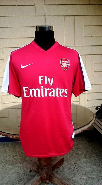 0192762e3883 ... ENGLISH PREMIER ARSENAL FC 2008-2009 SAMIR NASRI 8 JERSEY NIKE SHIRT  LARGE - vintage ...
