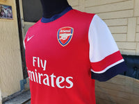 ENGLISH PREMIER ARSENAL FC 2012-2013 LEAGUE CUP QUARTER-FINALS OZIL 11 JERSEY NIKE SHIRT SOLD !!! - vintage soccer jersey
