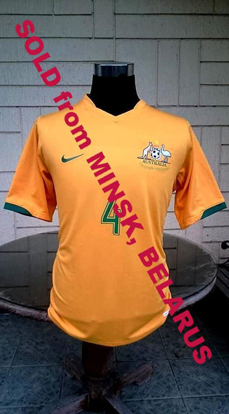 AUSTRALIA 2006 WORLD CUP TIM CAHILL JERSEY SOCCEROOS NIKE SHIRT LARGE SOLD !!! - vintage soccer jersey
