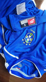 BRAZIL 1998 WORLD CUP CHAMPIONS FINAL RUNNERS-UP AWAY JERSEY NIKE SHIRT CAMISA  SOLD !!! - vintage soccer jersey