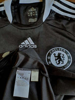 ENGLISH PREMIER CHELSEA 2008-09 FA CHAMPION JERSEY ADIDAS AWAY SHIRT MAILLOT SMALL / MODEL # 368089 - vintage soccer jersey