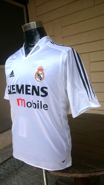 low priced 0386c c8a8d SPANISH LA LIGA REAL MADRID 2004-2005 LA LIGA 2ND PLACE BECKHAM JERSEY  ADIDAS SHIRT CAMISETA SOLD !!!!