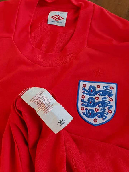 21ded50420e ENGLAND 2010 FIFA WORLD CUP SOUTH AFRICA LAMPARD 8 JERSEY UMBRO AWAY SHIRT  LARGE SOLD !