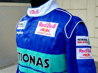 F1 FORMULA ONE TEAM SAUBER RED BULL RACING PETRONAS VINTAGE SPARCO JACKET M - vintage soccer jersey