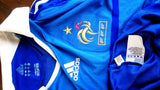 FRANCE 2008 EURO QUALIFICATION HOME JERSEY ADIDAS SHIRT MAILLOT  MEDIUM  SOLD !!! - vintage soccer jersey