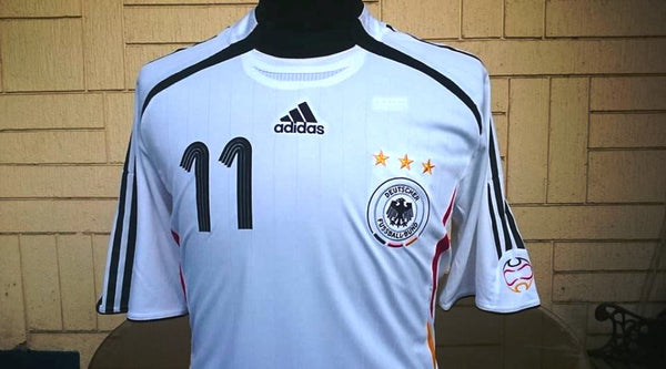 54a6fee7a90 ... GERMANY 2006 FIFA WORLD CUP KLOSE 11 HOME JERSEY ADIDAS FORMOTION SHIRT  TRIKOT MEMORABILIA MEDIUM ...