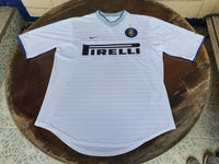 ITALIAN CALCIO INTER MILAN 2000-2001 COPPA ITALIA QUARTER FINALS NIKE AWAY SHIRT MAGLIA MEDIUM