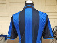 ITALIAN CALCIO INTER MILAN 2000-01 COPPA ITALIA QUARTER FINALS HOME NIKE SHIRT MAGLIA MEDIUM SOLD !!!! - vintage soccer jersey