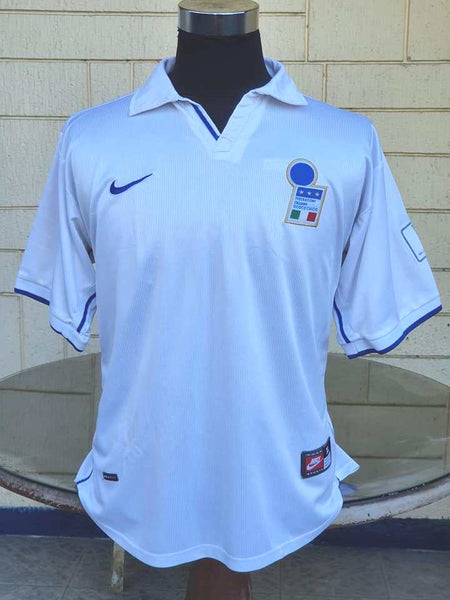 ITALY 1998 WORLD CUP QUARTER-FINALS NIKE AWAY SHIRT MAGLIA XL