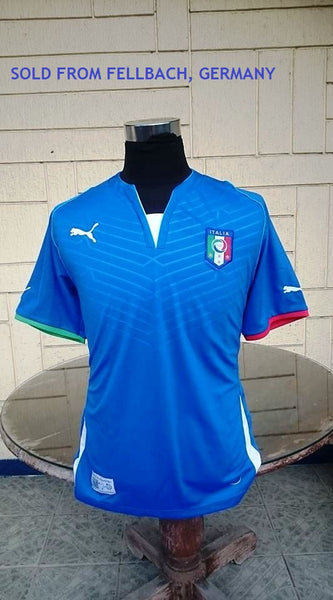 57175d59a9 ITALY 2013 FIFA CONFEDERATIONS CUP 3RD PLACE HOME JERSEY MAGLIA CAMISETA  LARGE SOLD !!!