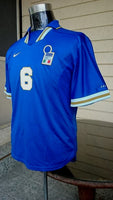 ITALY 1996 EURO QUALIFICATION AZZURRI MAGLIA HOME NIKE SHIRT CAMISETA SOLD !!!! - vintage soccer jersey