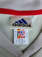 JAPAN 2002 WORLD CUP KOREA-JAPAN NAKATA JERSEY ADIDAS AWAY SHIRT ジャージーシャツ MEDIUM  SOLD  VENDIDO