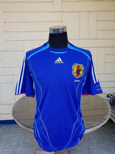 6bfe23c7c80 JAPAN 2006 WORLD CUP HOME JERSEY ADIDAS SHIRT LARGE ジャージーシャツ - vintage soccer  jersey