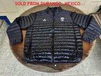 ITALIAN CALCIO JUVENTUS FC 2017 LIGHT DOWN PADDED BLACK JACKET/ SERIE-A & COPPA ITALIA CHAMPION XL / MODEL AY2541  SOLD !!! - vintage soccer jersey