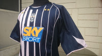 ITALIAN CALCIO JUVENTUS FC 2004-05 SERIE-A CHAMPION STRIPPED NIKE SHIRT MAGLIA CAMISETA  SOLD !!! - vintage soccer jersey