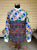 LOTTO 90'S PSYCHEDELIC GOALKEEPER VERY RARE LONGSLEEVES SHIRT  SOLD !!!! - vintage soccer jersey