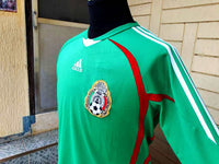 MEXICO 2009 CONCACAF GOLD CUP CHAMPION ADIDAS HOME SHIRT CAMISETA MEDIUM/ CODE # 645175  SOLD !!! - vintage soccer jersey