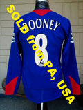 ENGLISH PREMIER MANCHESTER UNITED FC 2005-06 LEAGUE 31st.CHAMPION ROONEY JERSEY NIKE SHIRT M SOLD !!!! - vintage soccer jersey