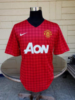 ENGLISH PREMIER MANCHESTER UNITED FC 2012-2013 ENGLISH PREMIER LEAGUE CHAMPION TOP GOALSCORER V. PERSIE JERSEY NIKE SHIRT XL/ MODEL # 479278-623 - vintage soccer jersey