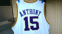 NBA DENVER NUGGETS CHAMPION VINTAGE HARDWOOD CLASSIC REEBOK BASKETBALL JERSEY CARMELO ANTHONY 15 AUTHENTIC SHIRT 3 XL - vintage soccer jersey