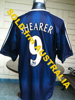 ENGLISH PREMIER NEWCASTLE UNITED FC 2004-05 UEFA CUP QUARTER FINAL SHEARER SHIRT SOLD!! - vintage soccer jersey