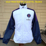 FRENCH LIGUE  PARIS SAINT GERMAIN 2014 TRACKING TOP NIKE JACKET MEDIUM SOLD !!! - vintage soccer jersey
