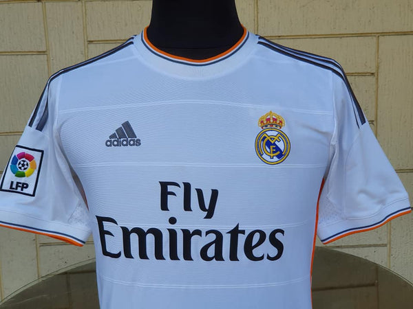 reputable site ec29d 869ed SPANISH LA LIGA REAL MADRID 2013-2014 UEFA CHAMPION FINALS RONALDO 7 JERSEY  ADIDAS SHIRT CAMISETA SOLD !!!