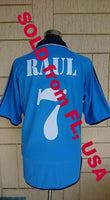 SPANISH LA LIGA REAL MADRID 1998-99 INTERCONTINENTAL CUP CHAMPION RAUL JERSEY ADIDAS SHIRT CAMISETA   SOLD !!! - vintage soccer jersey