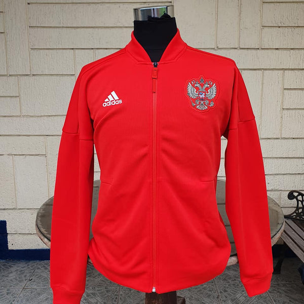 RUSSIA 2018 WORLD CUP QUARTER-FINALS MEMORABILIA ANTHEM JACKET  MEDIUM CODE# CF0579 - vintage soccer jersey